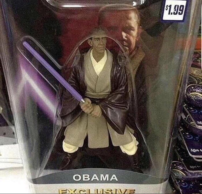 Didn't know obama was in star wars
