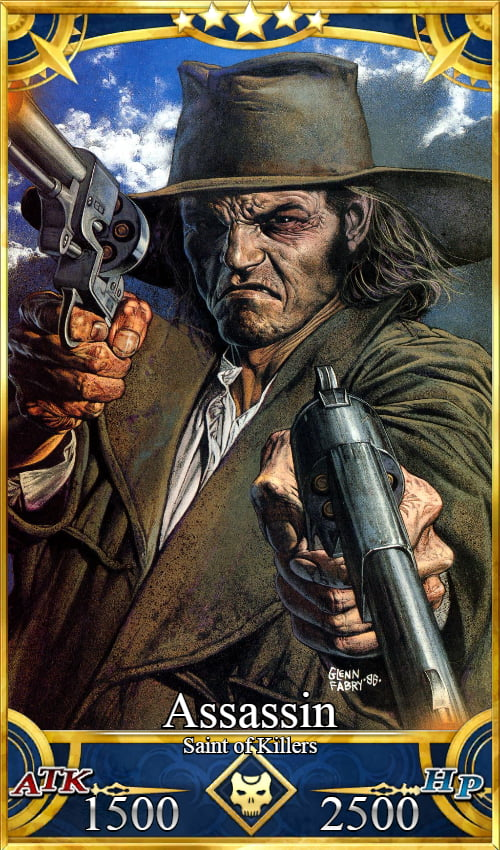The Saint of Killers, by far the most OP Assassin we could get.