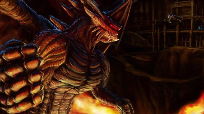 Orochi vs Garou, Demon's Souls edition