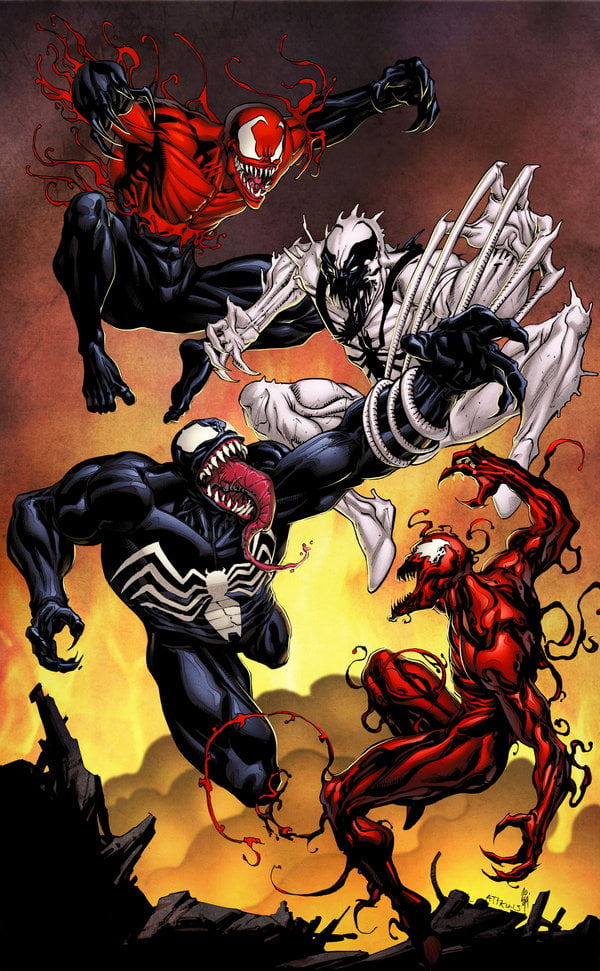 Anybody got a favorite symbiote? Probably the original venom for me