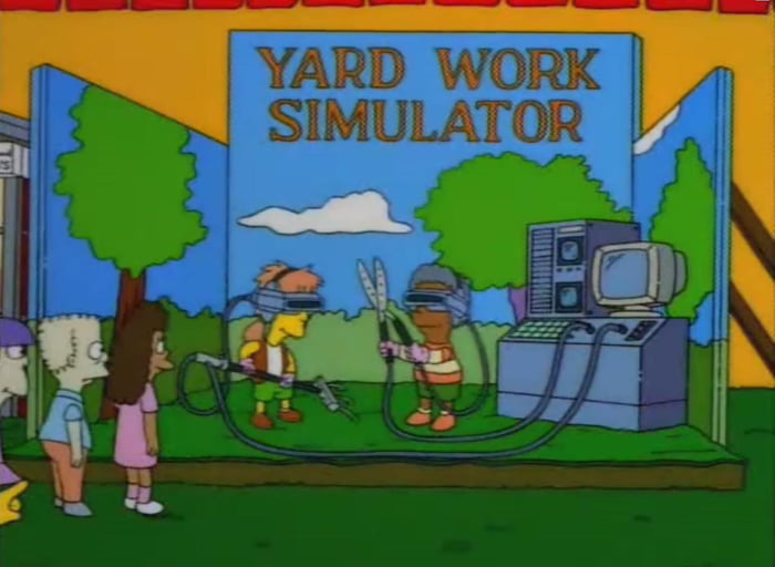 This Simpsons joke from 1998 seems very realistic now!
