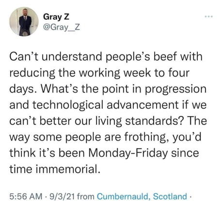 The point of automation was always to reduce labor and create a better lifestyle for all. CEOs took advantage of that and are hoarding itall.