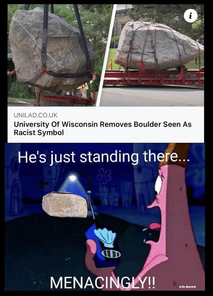 That boulder has long history of anti-sedimentism