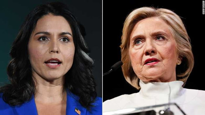 Hillary now accuses Tulsi Gabbard and Jill Stein of working with the Russians. Just when i thought she could not look more pathetic after rigging the DNC against Bernie and lost to Trump she surprised me.