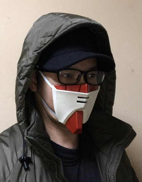 Model Builder Shows Off His Modified Anime Face Mask 9gag While there are numerous masked characters in naruto, kakashi represents one of the most curious, as no. modified anime face mask 9gag