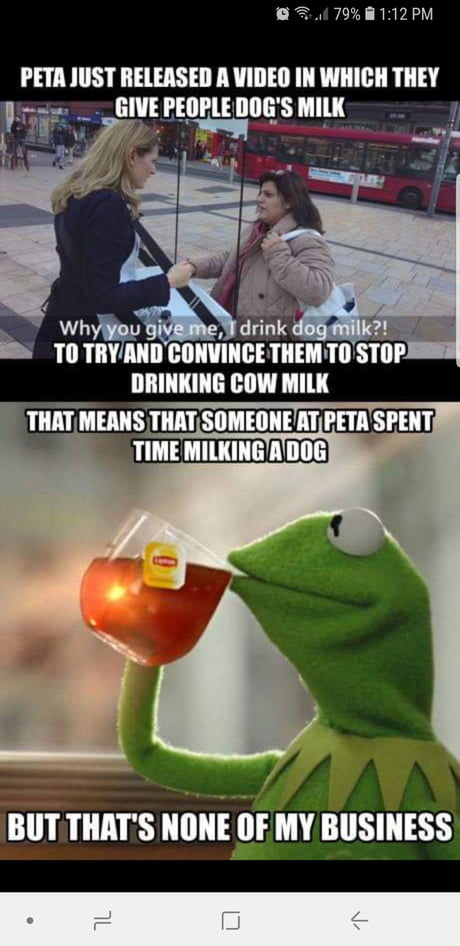 PETA at it again...