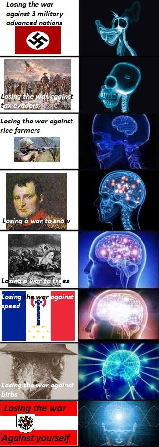 Imagini amuzante si haioase - Losing The War, and How to Rank it