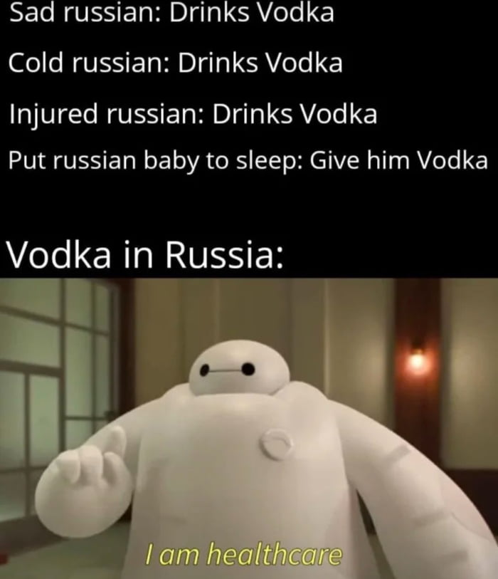 Vodka is the only solution