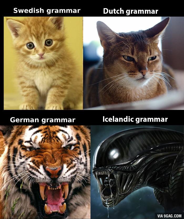 German grammar is not THAT horrible...