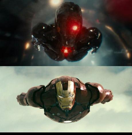 Justice League 2017 500m Budget Vs Iron Man 2008 140m Budget Cgi 9gag