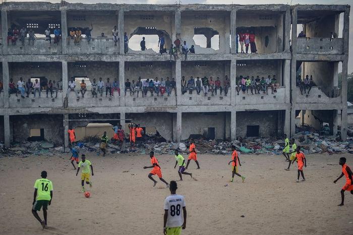 Mogadishu, Somalia | Sumber: 9gag