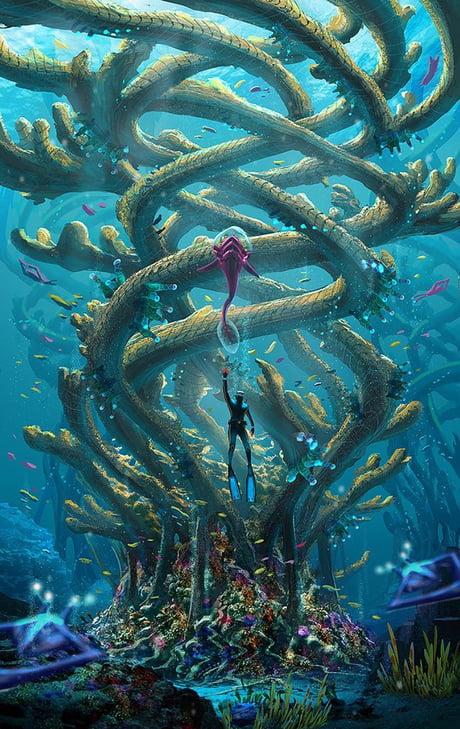 Amazing Subnautica Wallpaper! - 9GAG