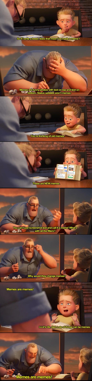 New memes vs old memes