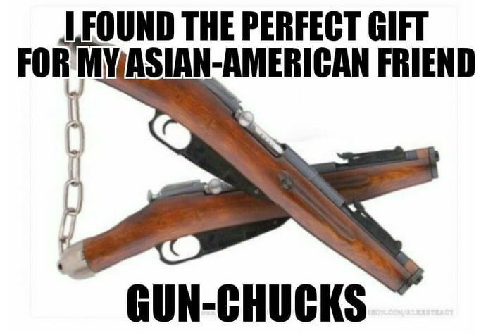 Gun-chucks
