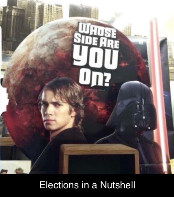No high ground here