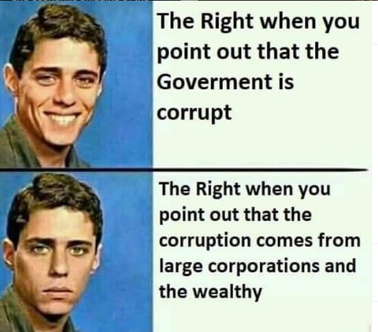Yes, the system is corrupt