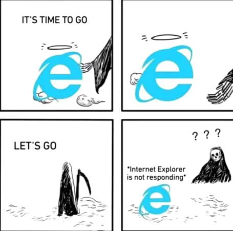 Today, Microsoft closes IE after 26 years of service.