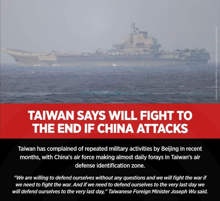 Taiwan prepares for possible military action. April 7, 2021
