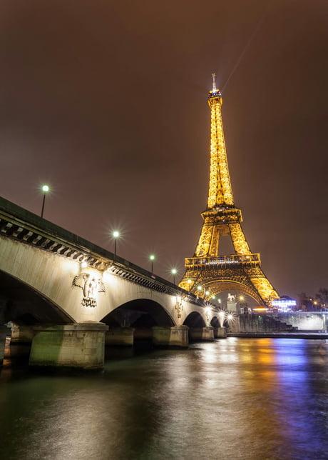 Beautiful Paris By Night 9gag