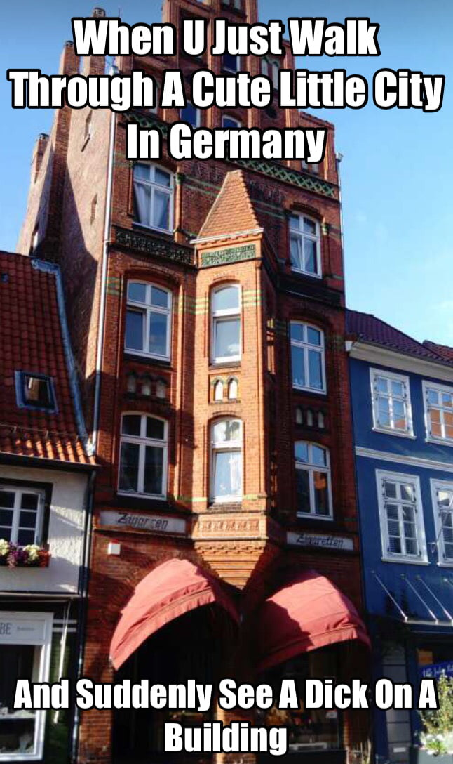 Dick building in Lüneburg (Germany)