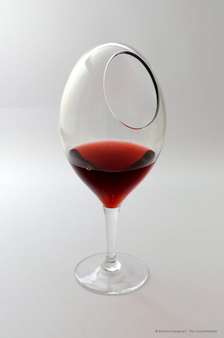 This wine glass though...