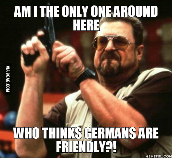 As a Muslim Arab who's lived in Germany for 8 months, people have been so good to me