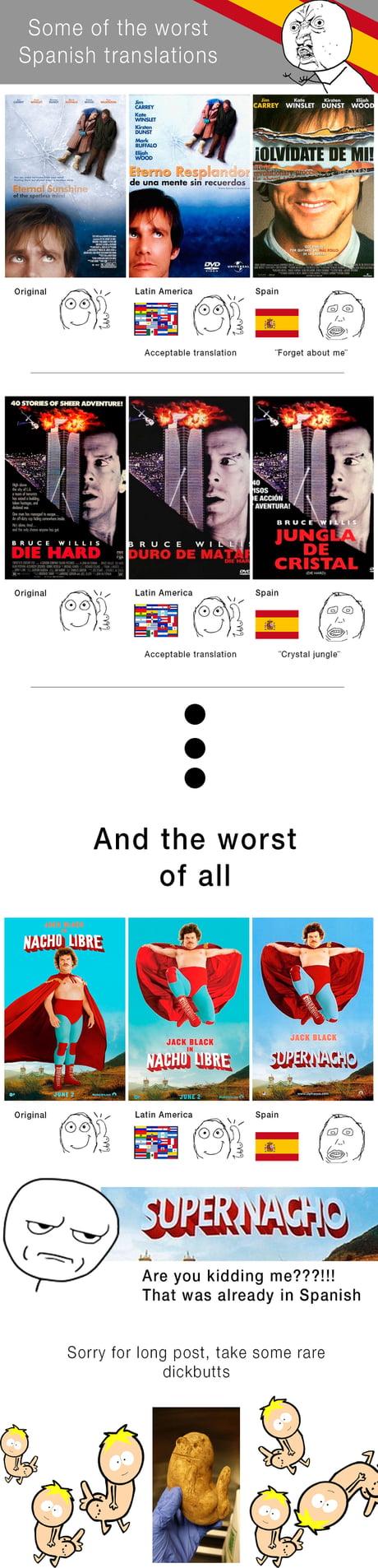 spanish title translations