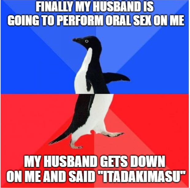 My husband everyone. me and my husband are both otaku but i never expected him doing this to me. -_-