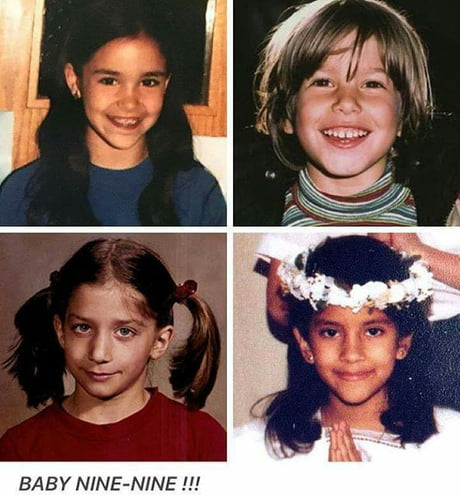 Gina Chelsea Peretti Looks Like She S Up To No Good Even Back Then 9gag