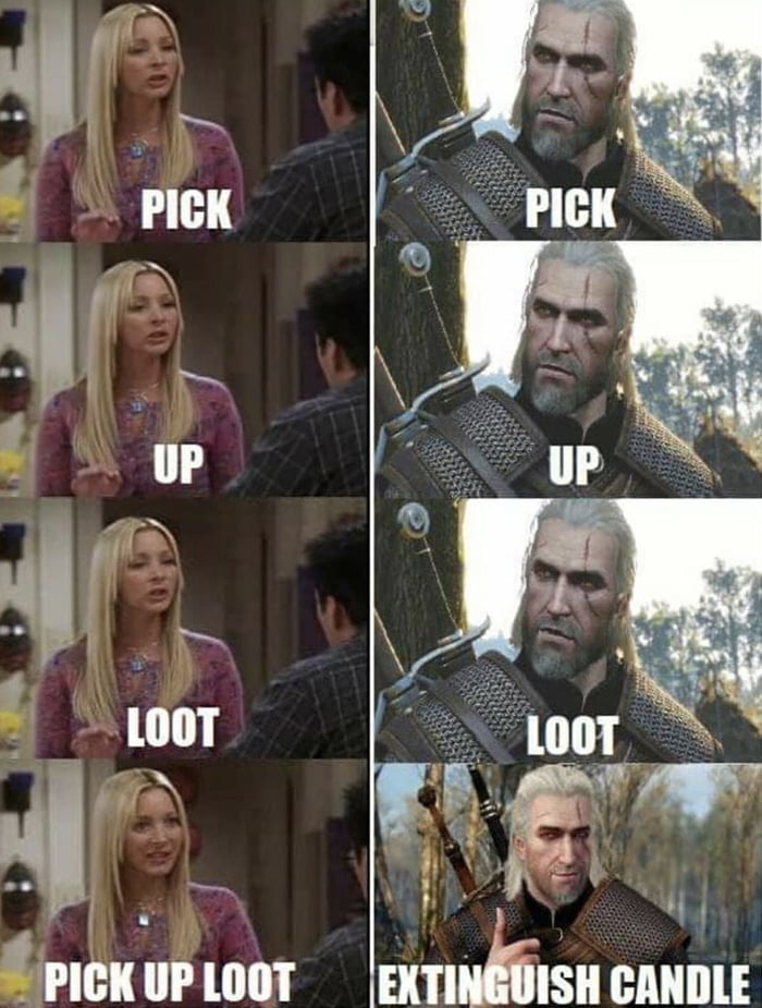 Just started playing witcher and this is pissing me off