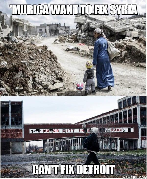 Syria VS Detroit