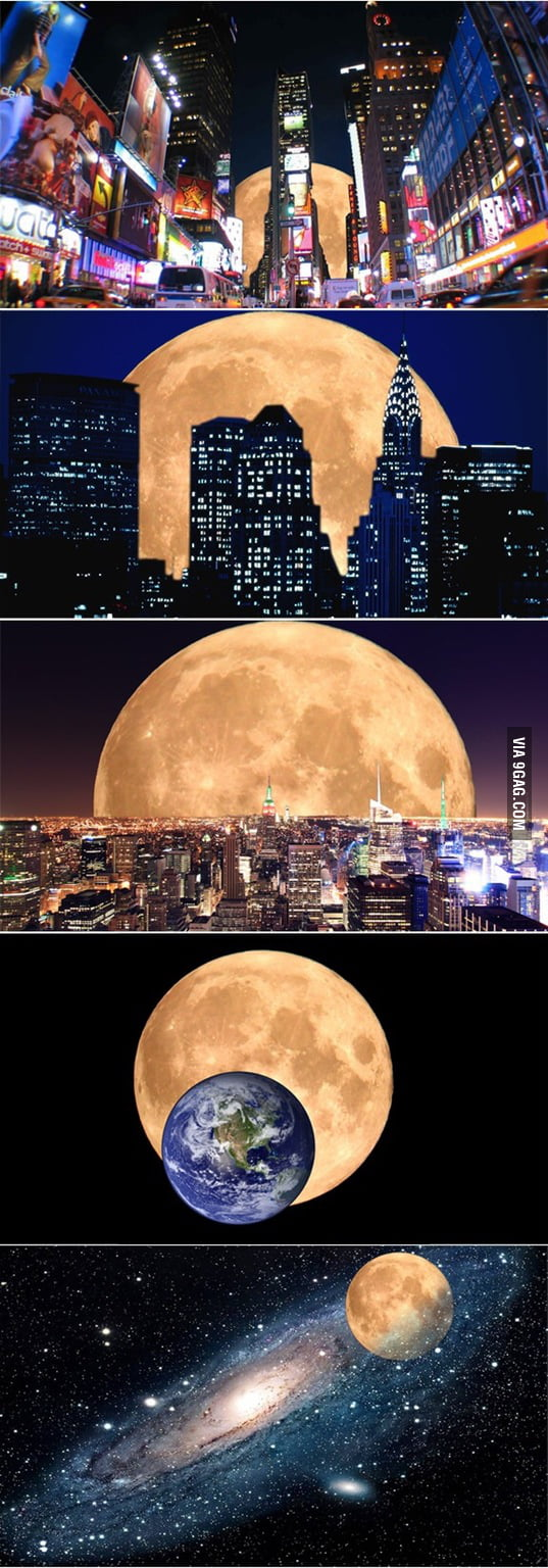 Actual photos of the super moon