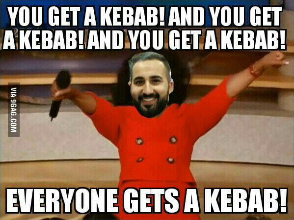 A tribute to our saviour, Kebab Guy