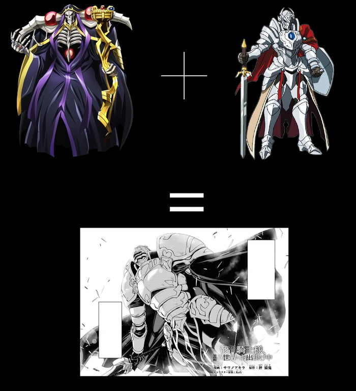 Source: Skeleton Knight in Another World and Overlord