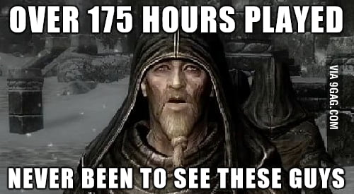 My Skyrim Confession