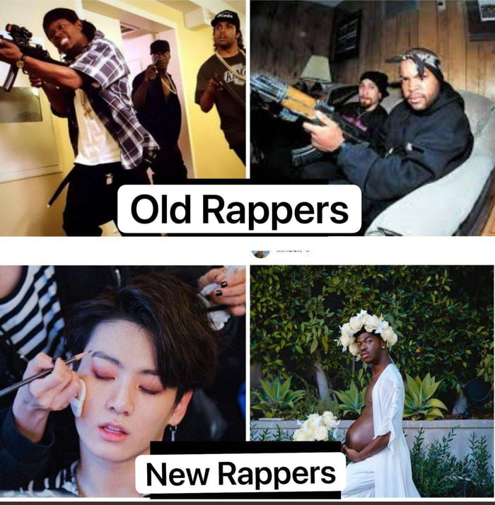 Old Rappers VS. New Rappers!