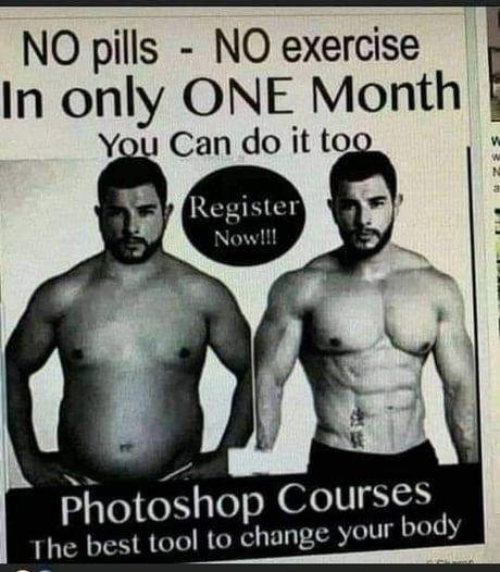 No pills no exercise