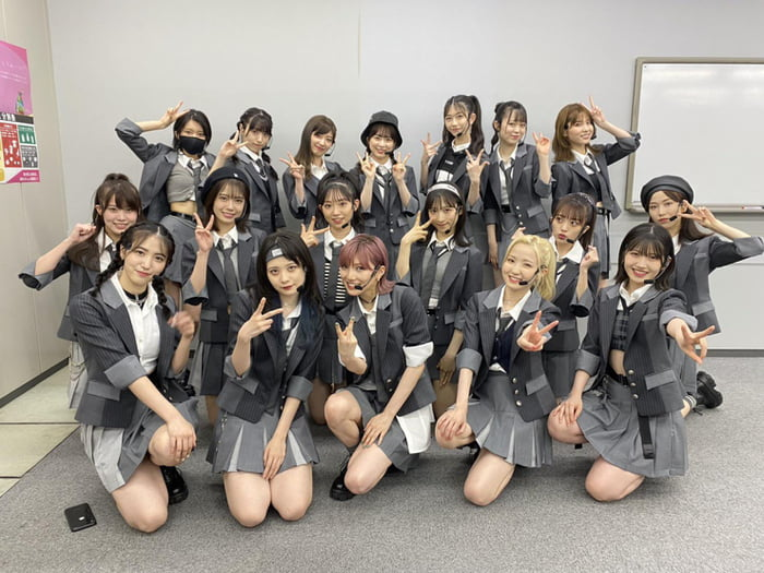 Photo : 210717 Honda Hitomi In Front Row AKB48 Formation Lineup For Baseless Rumor Single @ The Music Day