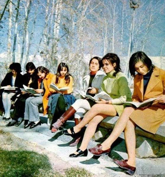 Iranian women just before the Islamic Revolution. Revolution isn't always a good thing.