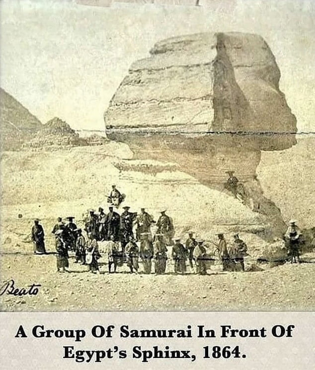 How fascinating could this have been for those samurais