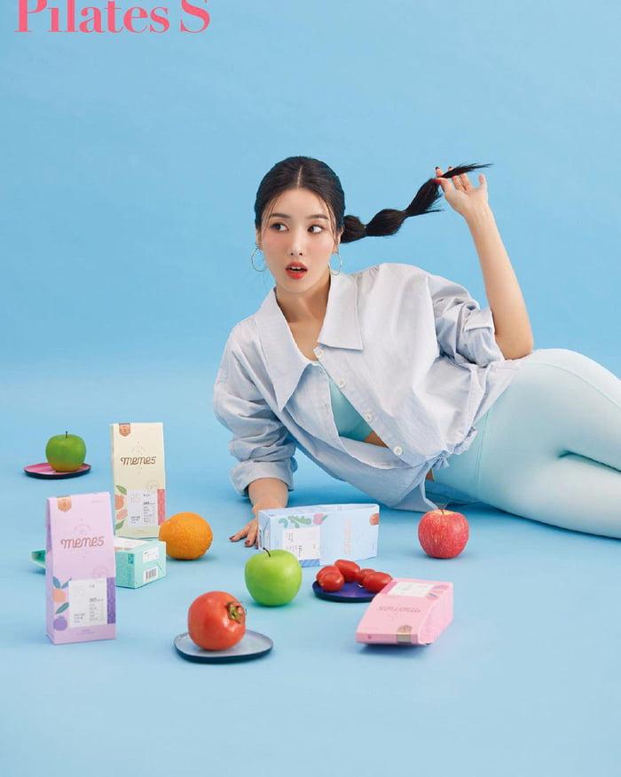 Photo : 210911 Kwon Eunbi X Pilates S