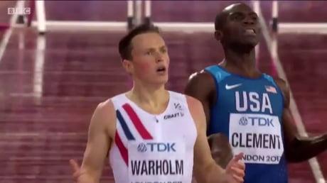 Karsten Warholms Reaction to becoming World Champion