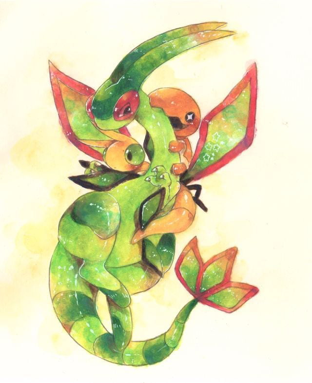 I am going to post pictures of pokemon and their evolutions every single day in chronological order #328-329-330