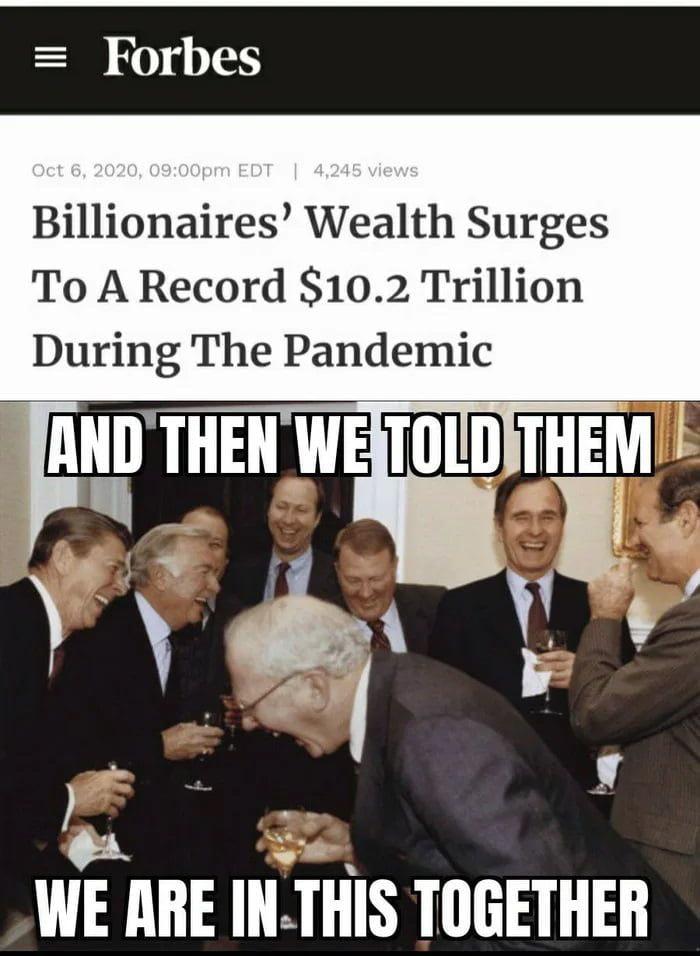 I say we kill the rich