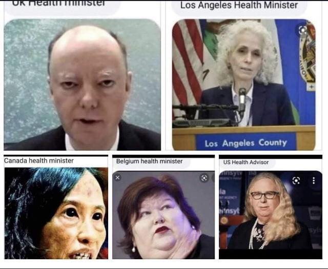 Health minister 2021 version
