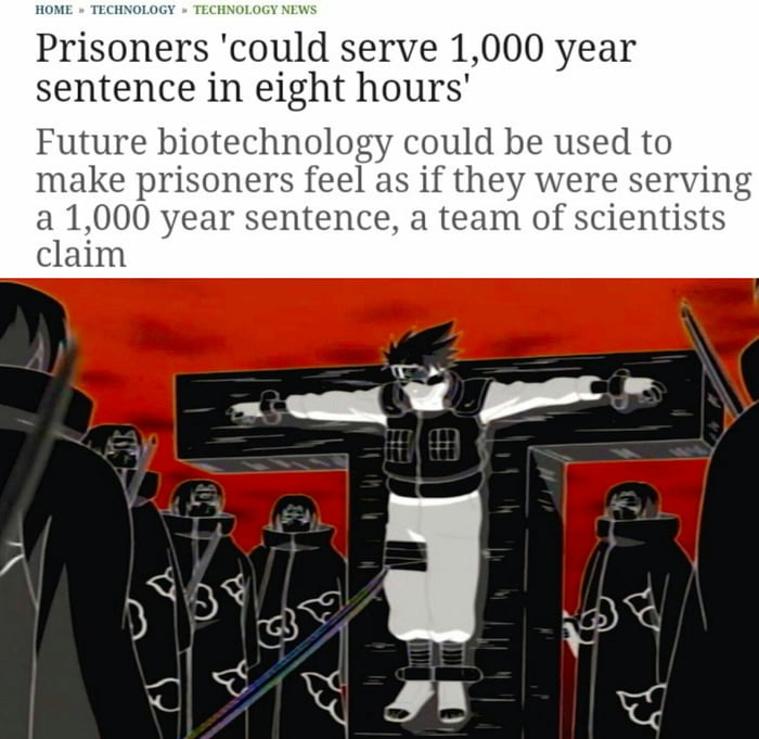 It's 2030. You got arrested for not using someones pronouns and got sentenced to 1000 years in mind prison