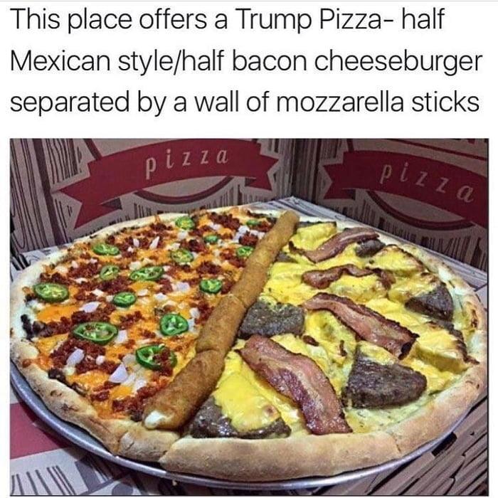 The Trump Pizza