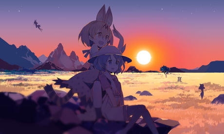 Best anime of the season, thank you kemono friends