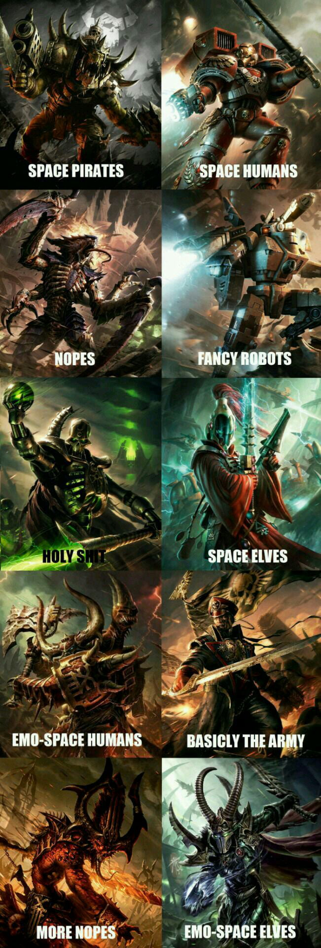 Warhammer Factions