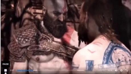 God of war first boss fight - Video | Gif-Vif